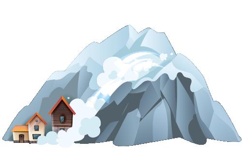 Schneedruck & Lawinen
