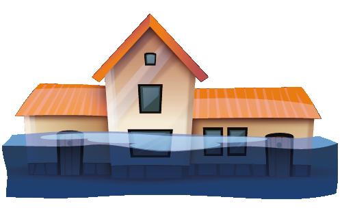 Starkregen, Überschwemmung & Hochwasser