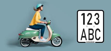 Mopedkennzeichen?